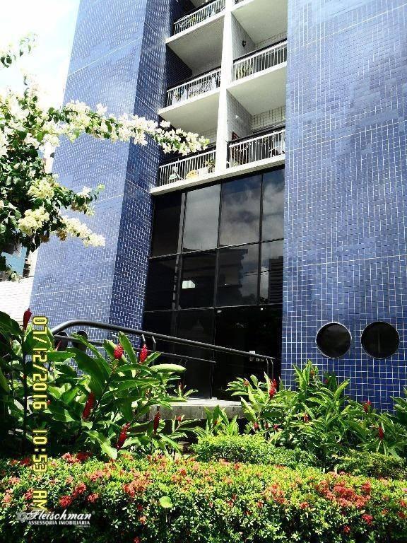 apartamento com 2 dormitórios à venda, 68 m² por r$ 360.000,00 - parnamirim - recife/pe - ap0471