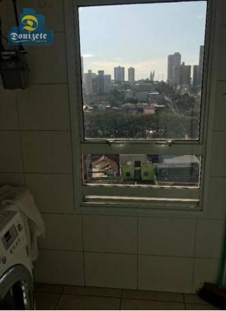 apartamento com 2 dormitórios à venda, 68 m² por r$ 480.000,00 - jardim - santo andré/sp - ap9769