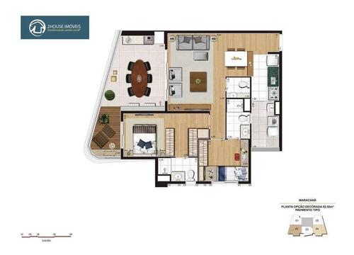 apartamento com 2 dormitórios à venda, 68 m² por r$ 718.400,00 - alto da lapa - são paulo/sp - ap23637