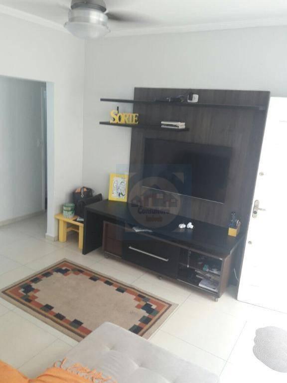 apartamento com 2 dormitórios à venda, 70 m² por r$ 265.000,00 - vila valença - são vicente/sp - ap2618