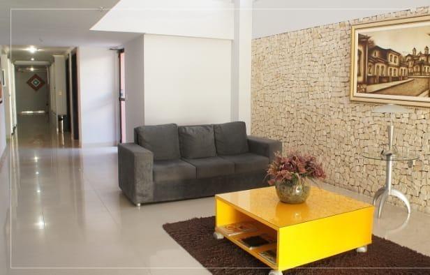 apartamento com 2 dormitórios à venda, 70 m² por r$ 460.000 - meireles - fortaleza/ce - ap4283