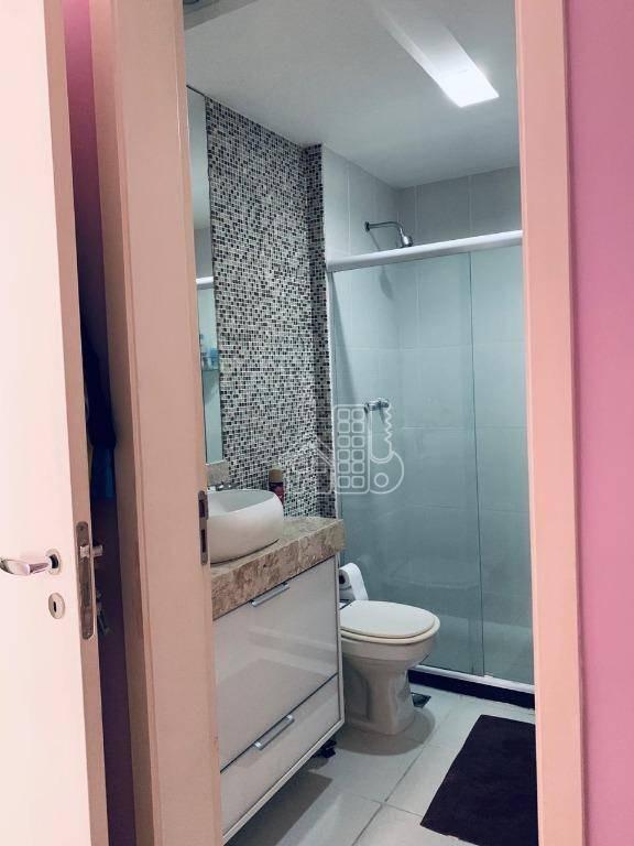 apartamento com 2 dormitórios à venda, 70 m² por r$ 550.000,00 - icaraí - niterói/rj - ap3414