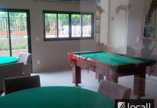 apartamento com 2 dormitórios à venda, 72 m² por r$ 450.000 - jardim novo mundo - são josé do rio preto/sp - ap1783