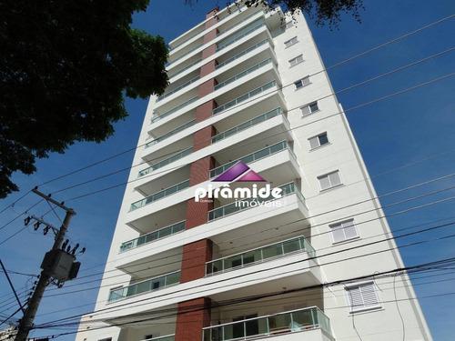 apartamento com 2 dormitórios à venda, 72 m² por r$ 480.000 - vila adyana - são josé dos campos/sp - ap10652