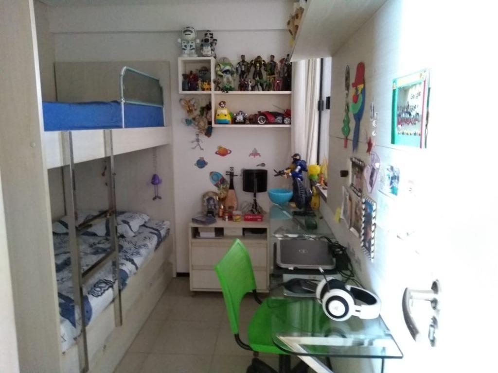 apartamento com 2 dormitórios à venda, 72 m² por r$ 620.000 - aldeota - fortaleza/ce - ap3980
