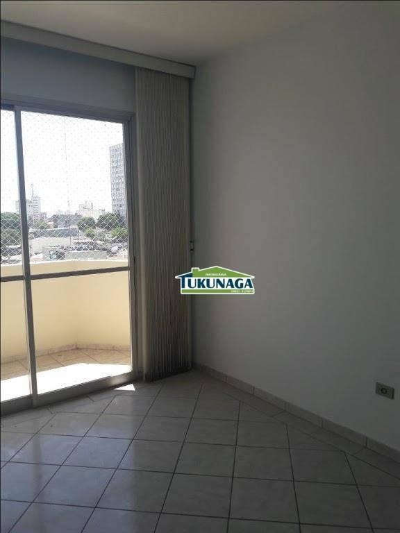 apartamento com 2 dormitórios à venda, 73 m² - jardim guarulhos - guarulhos/sp - ap2302