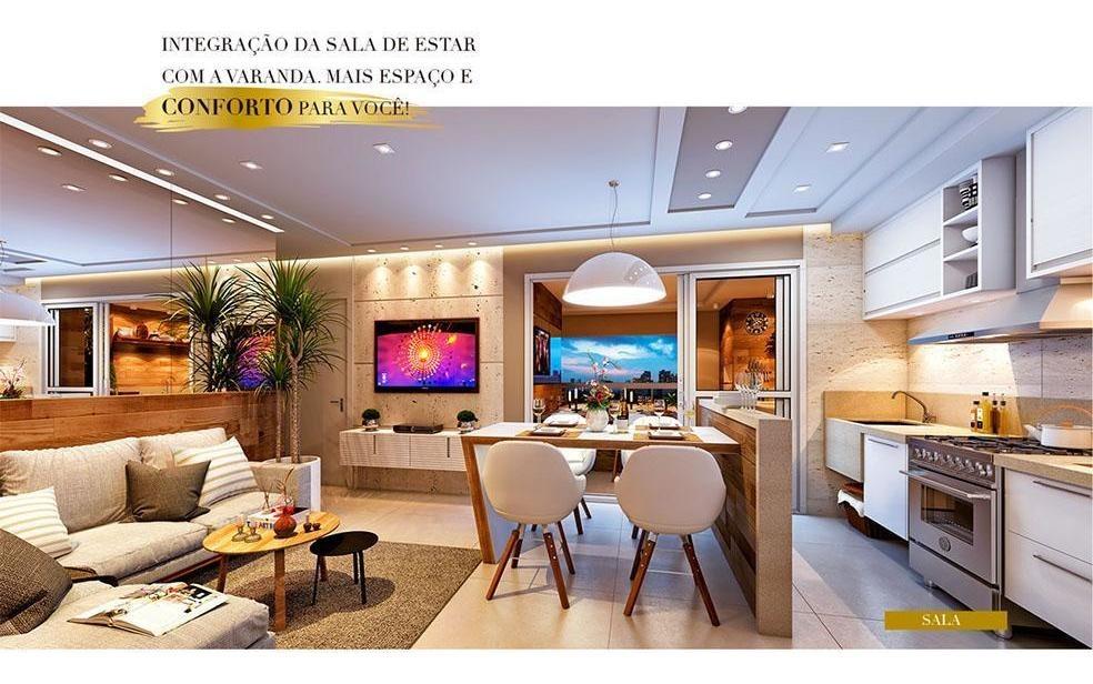 apartamento com 2 dormitórios à venda, 73 m² por r$ 620.000,00 - jardim aquarius - são josé dos campos/sp - ap11567