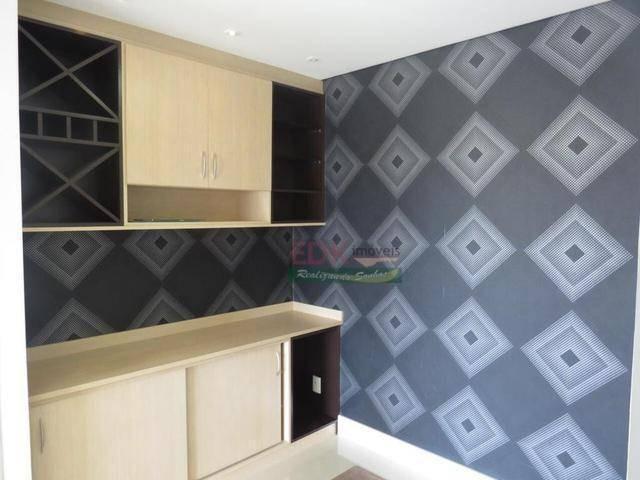 apartamento com 2 dormitórios à venda, 74 m² por r$ 280.000 - barranco - taubaté/sp - ap2870