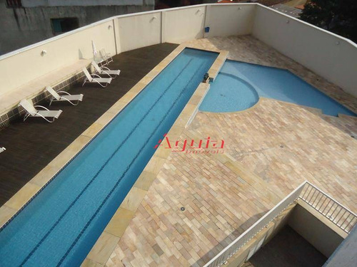 apartamento com 2 dormitórios à venda, 74 m² por r$ 345.000 - jardim santo antônio - santo andré/sp - ap1274