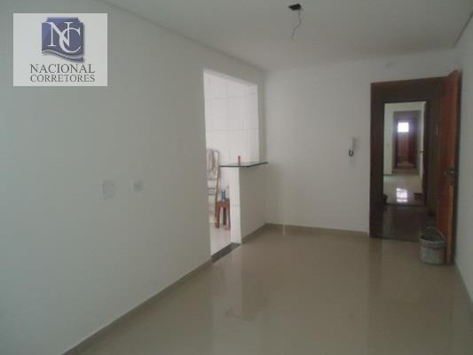apartamento com 2 dormitórios à venda, 75 m² por r$ 280.000,00 - vila lucinda - santo andré/sp - ap0857