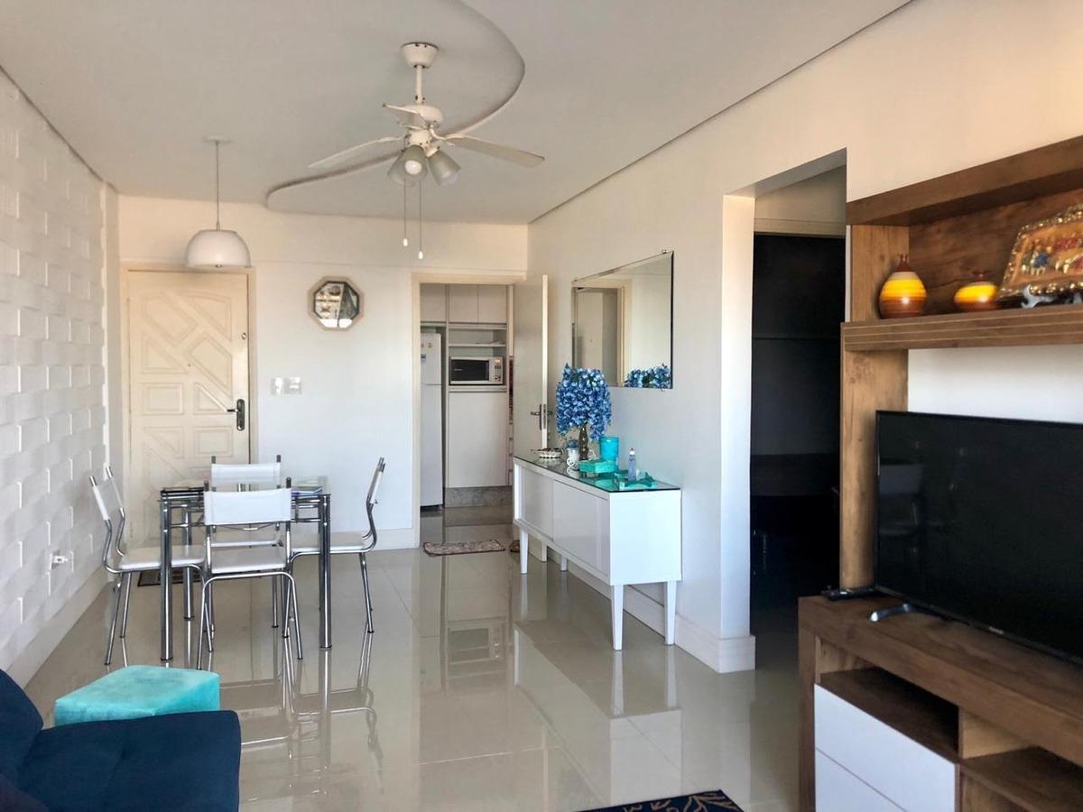 apartamento com 2 dormitórios à venda, 75 m² por r$ 330.000 - guilhermina - praia grande/sp - ap0337