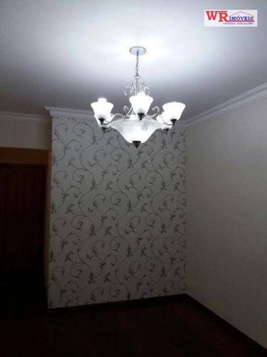 apartamento com 2 dormitórios à venda, 75 m² por r$ 330.000 - vila baeta neves - são bernardo do campo/sp - ap2638