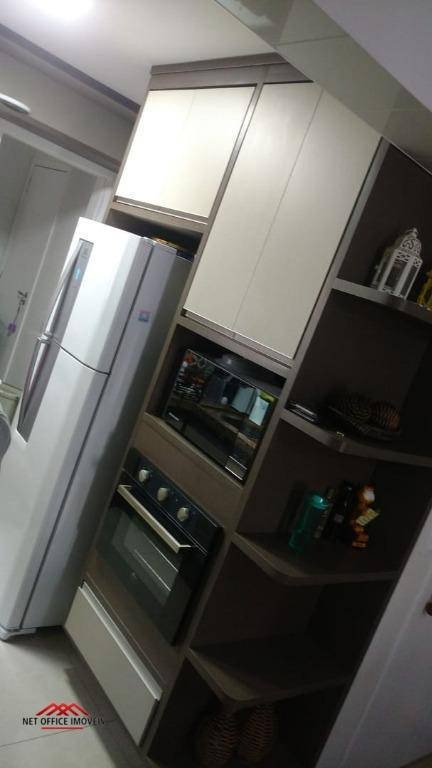 apartamento com 2 dormitórios à venda, 75 m² por r$ 435.000 - splendor garden - jardim das indústrias - são josé dos campos/sp - ap0886