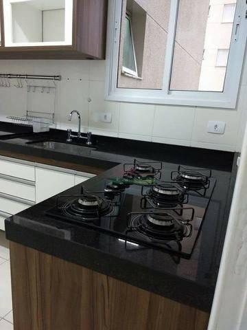 apartamento com 2 dormitórios à venda, 75 m² por r$ 437.000 - condomínio splendor garden - jardim das indústrias - são josé dos campos/sp - ap3790