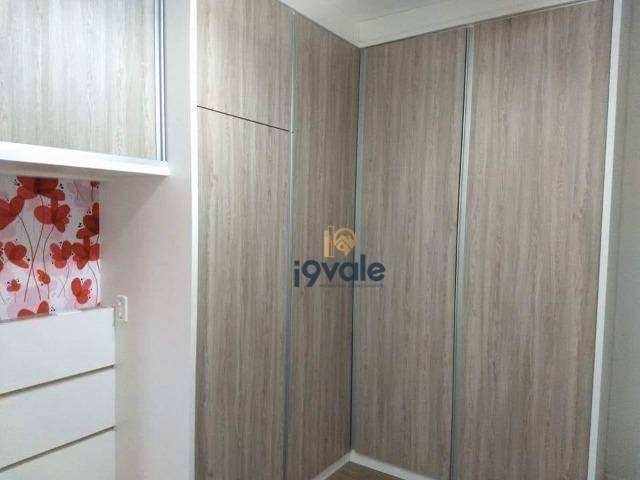 apartamento com 2 dormitórios à venda, 75 m² por r$ 440.000 - jardim das indústrias - são josé dos campos/sp - ap2306