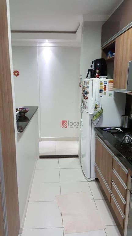 apartamento com 2 dormitórios à venda, 75 m² por r$ 450.000 - jardim novo mundo - são josé do rio preto/sp - ap2082