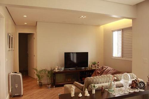 apartamento com 2 dormitórios à venda, 75 m² por r$ 455.000 - vila augusta - guarulhos/sp - ap0005