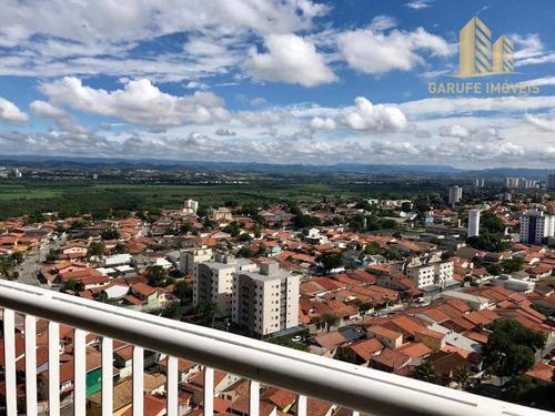 apartamento com 2 dormitórios à venda, 75 m² por r$ 460.000 - jardim das indústrias - são josé dos campos/sp - ap1096