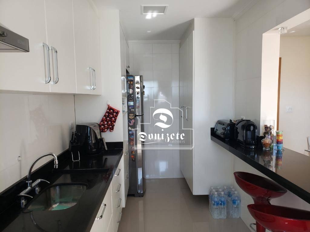 apartamento com 2 dormitórios à venda, 75 m² por r$ 490.000,00 - santa maria - são caetano do sul/sp - ap14147