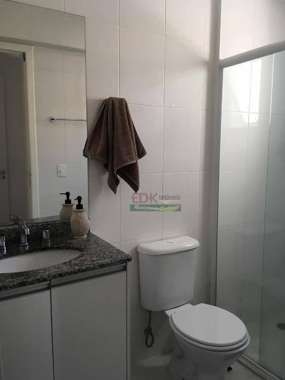 apartamento com 2 dormitórios à venda, 75 m² por r$ 524.000 -condomínio splendor garden - jardim das indústrias - são josé dos campos/sp - ap3804