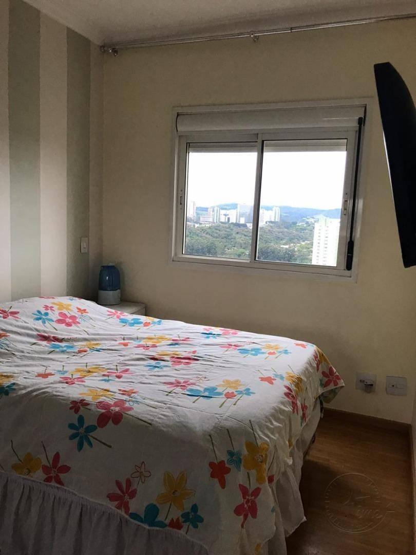 apartamento com 2 dormitórios à venda, 76 m² por r$ 470.000,00 - jardim tupanci - barueri/sp - ap0754