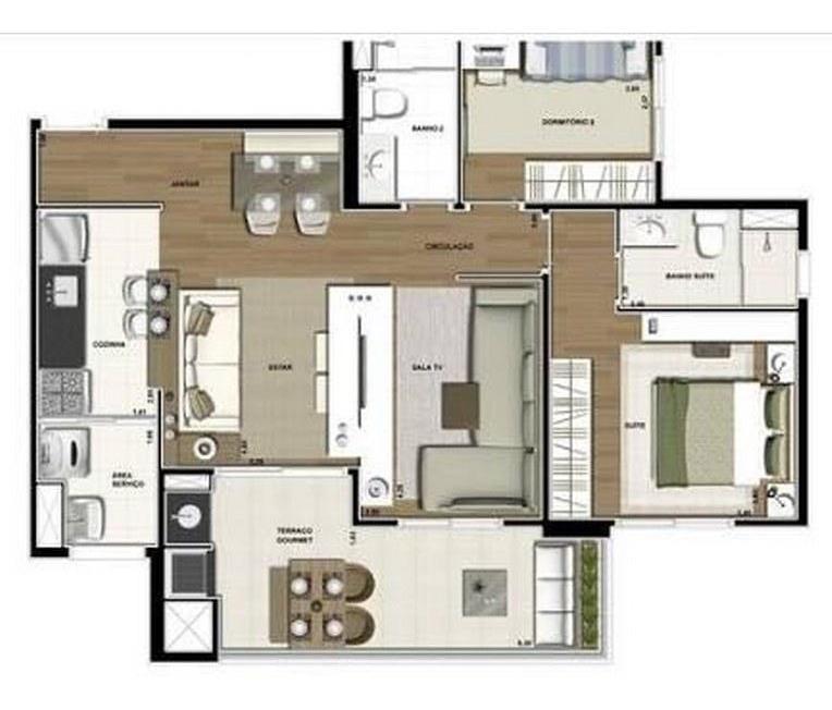 apartamento com 2 dormitórios à venda, 76 m² por r$ 615.000,00 - vila formosa - são paulo/sp - ap4406