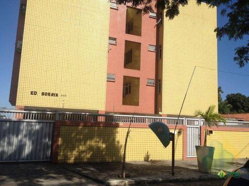 apartamento com 2 dormitórios à venda, 77 m² por r$ 175.000 - brisamar - joão pessoa/pb - cod ap0409 - ap0409
