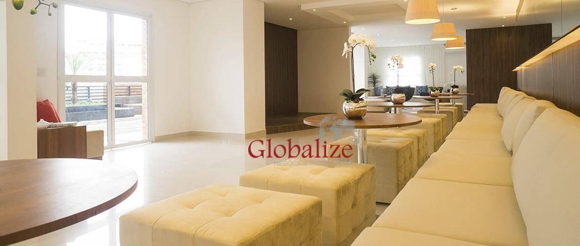 apartamento com 2 dormitórios à venda, 77 m² por r$ 640.000,00 - ponta da praia - santos/sp - ap0366