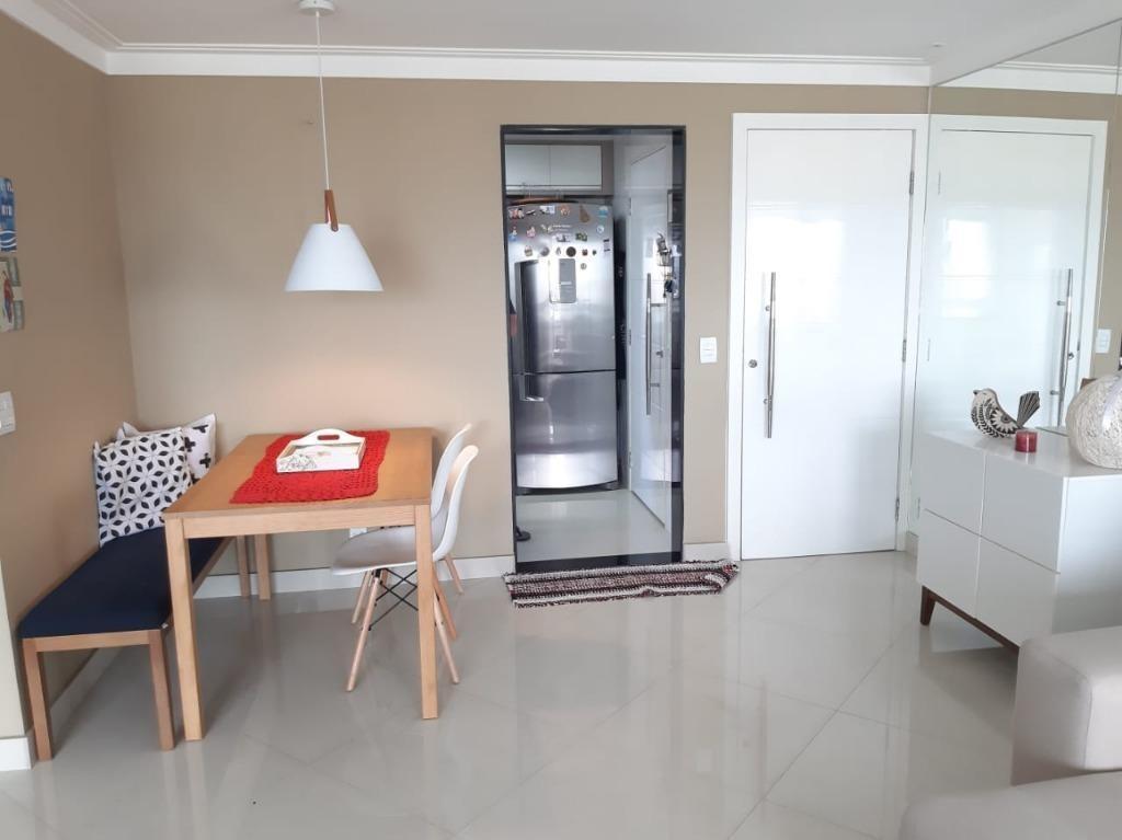 apartamento com 2 dormitórios à venda, 77 m² por r$ 660.000,00 - tatuapé - são paulo/sp - ap19523