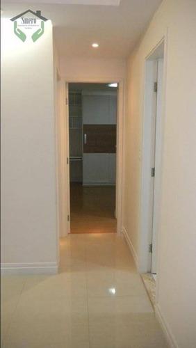 apartamento com 2 dormitórios à venda, 78 m² por r$ 495.000 - jaguaré - são paulo/sp - ap3394