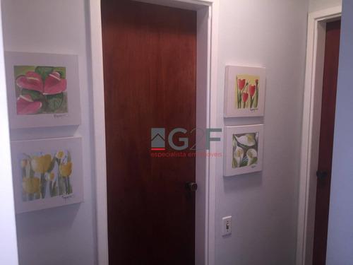 apartamento com 2 dormitórios à venda, 78 m² por r$ 550.000 - cambuí - campinas/sp - ap7884
