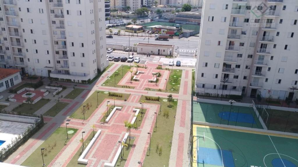 apartamento com 2 dormitórios à venda, 80 m² por r$ 370.000 - vila mogilar - mogi das cruzes/sp - ap0115