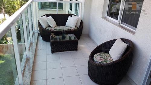 apartamento com 2 dormitórios à venda, 80 m² por r$ 550.000 - itacoatiara - niterói/rj - ap1108
