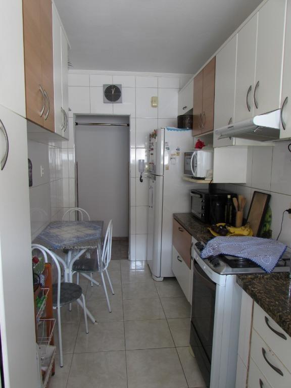 apartamento com 2 dormitórios à venda, 84 m² por r$ 250.000 - marapé - santos/sp - ap7055