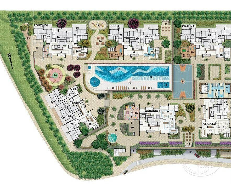 apartamento com 2 dormitórios à venda, 85 m² por r$ 424.000 - jardim tupanci - barueri/sp - ap0894