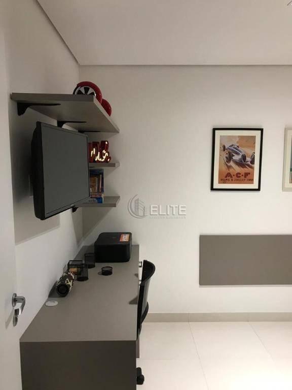 apartamento com 2 dormitórios à venda, 86 m² por r$ 530.000,00 - vila valparaíso - santo andré/sp - ap10360