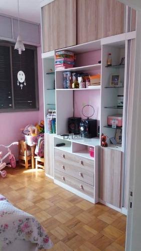 apartamento com 2 dormitórios à venda, 88 m² por r$ 185.000 - centro - campinas/sp - ap12979