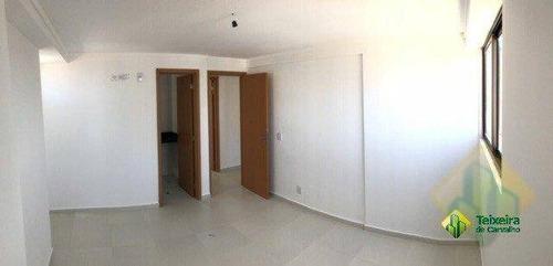 apartamento com 2 dormitórios à venda, 88 m² por r$ 291.200 - brisamar - joão pessoa/pb - cod ap0312 - ap0312