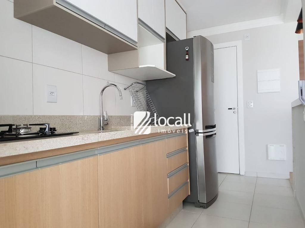 apartamento com 2 dormitórios à venda, 88 m² por r$ 520.000 - jardim urano - são josé do rio preto/sp - ap1771