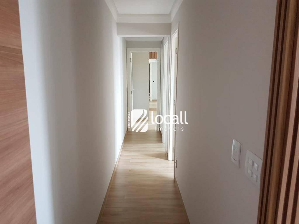 apartamento com 2 dormitórios à venda, 88 m² por r$ 520.000,00 - jardim urano - são josé do rio preto/sp - ap1771