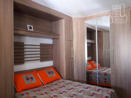 apartamento com 2 dormitórios à venda, 89 m² por r$ 630.000 - icaraí - niterói/rj - ap2272