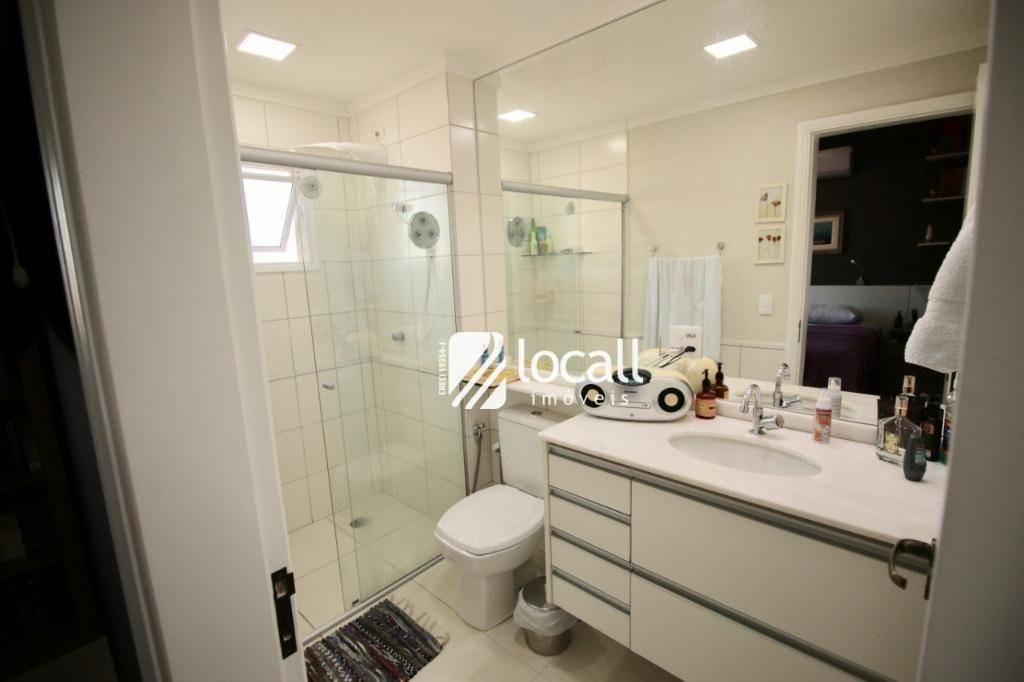 apartamento com 2 dormitórios à venda, 90 m² por r$ 450.000 - jardim urano - são josé do rio preto/sp - ap1772
