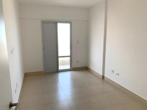 apartamento com 2 dormitórios à venda, 90 m² por r$ 600.000 - campo da aviação - praia grande/sp - ap1415