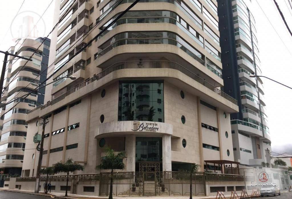 apartamento com 2 dormitórios à venda, 90 m² por r$ 750.000,00 - canto do forte - praia grande/sp - ap1231