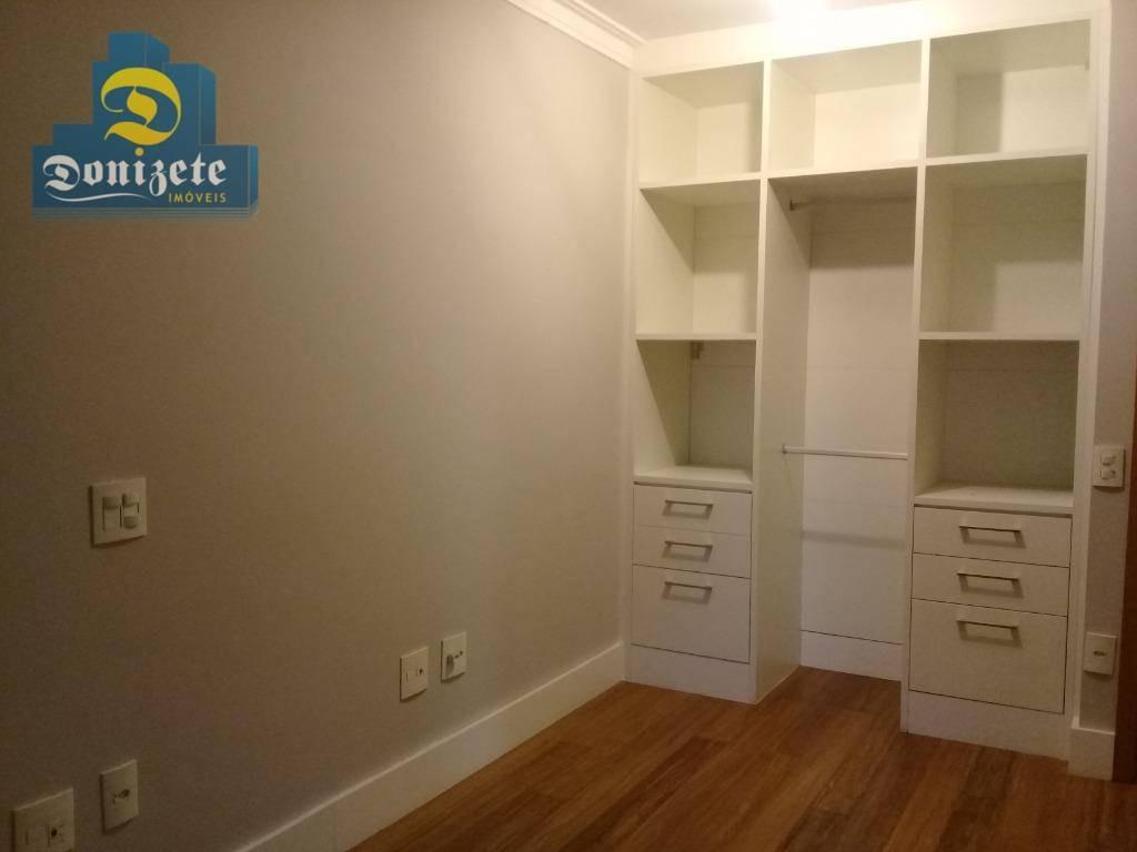 apartamento com 2 dormitórios à venda, 92 m² por r$ 649.000,00 - jardim - santo andré/sp - ap3404