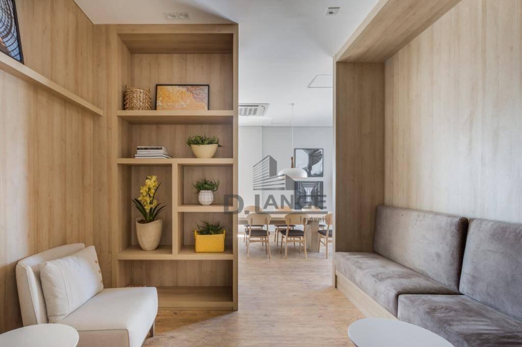 apartamento com 2 dormitórios à venda, 92 m² por r$ 930.000,00 - cambuí - campinas/sp - ap18038