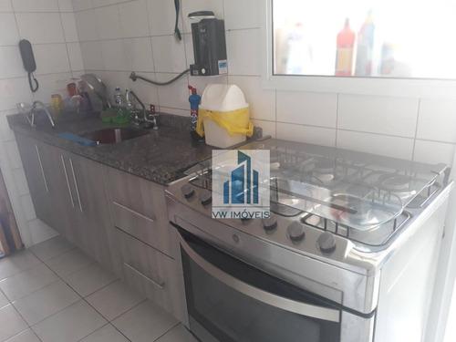 apartamento com 2 dormitórios à venda, 93 m² por r$ 549.000 - centro - guarulhos/sp - ap0003