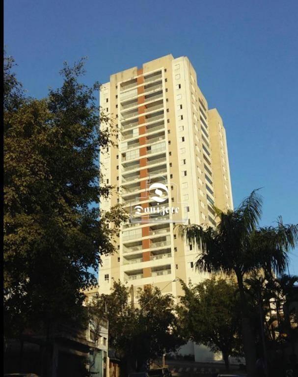apartamento com 2 dormitórios à venda, 93 m² por r$ 589.000,00 - vila valparaíso - santo andré/sp - ap10886
