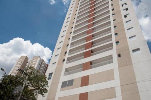 apartamento com 2 dormitórios à venda, 93 m² por r$ 590.000 - vila valparaíso - santo andré/sp - ap10886