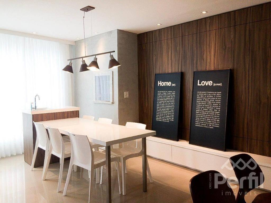apartamento com 2 dormitórios à venda, 94 m² por r$ 650.000 - saguaçu - joinville/sc - ap0689